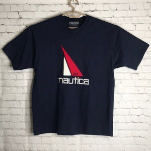 VTG Nautica embroidered shirt